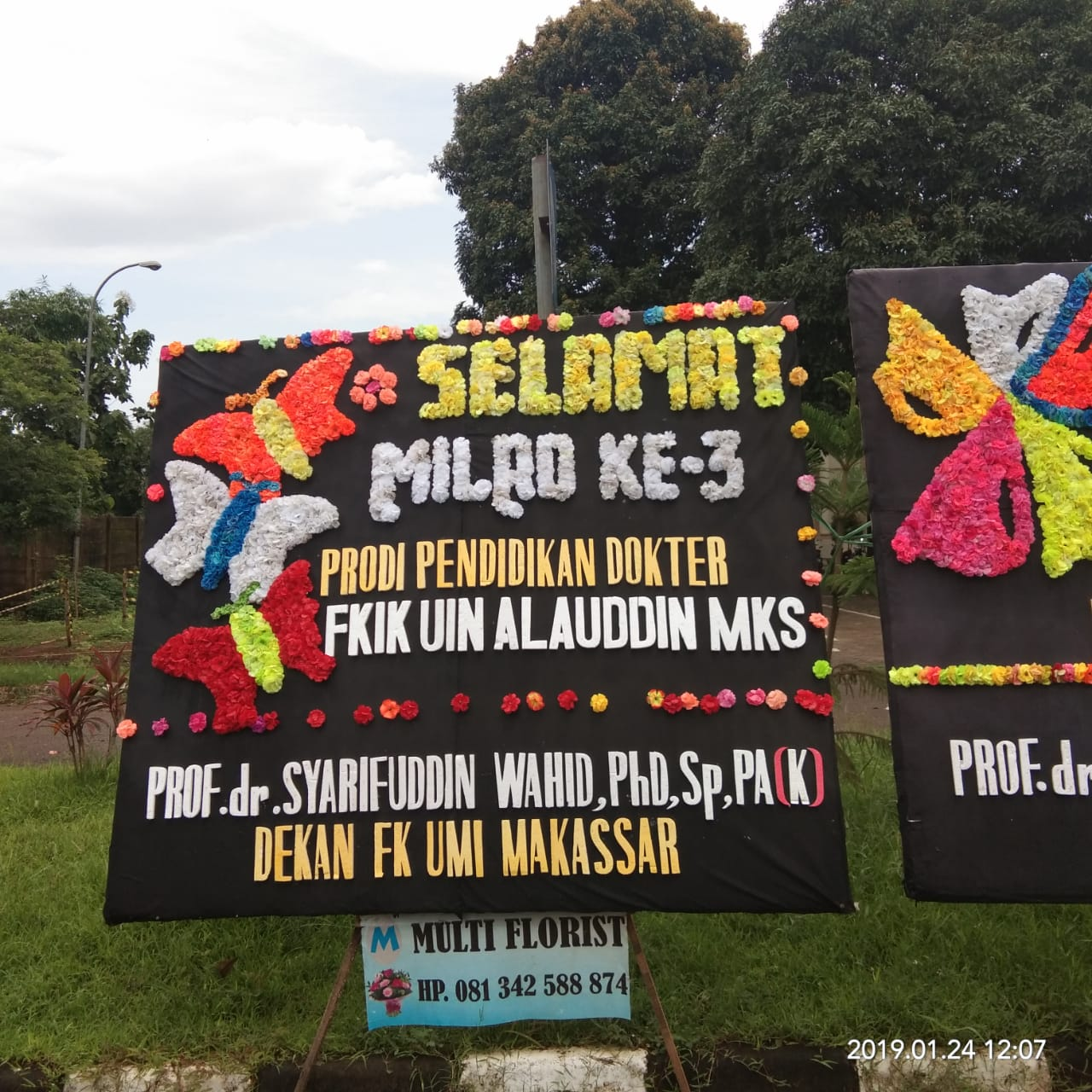 Ucapan Selamat Milad Ke 3 PSPD oleh Dekan FK UMI