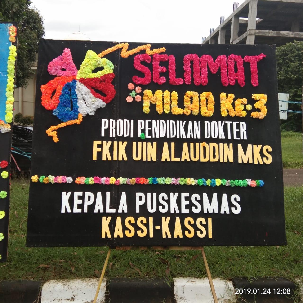 Ucapan Selamat Milad Ke 3 PSPD oleh Kepala PKM Kassi-kassi