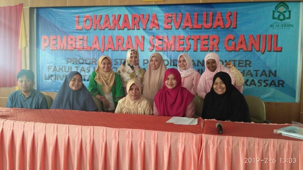 Lokakarya Evaluasi Pembelajaran Semester Ganjil TA 2018/2019